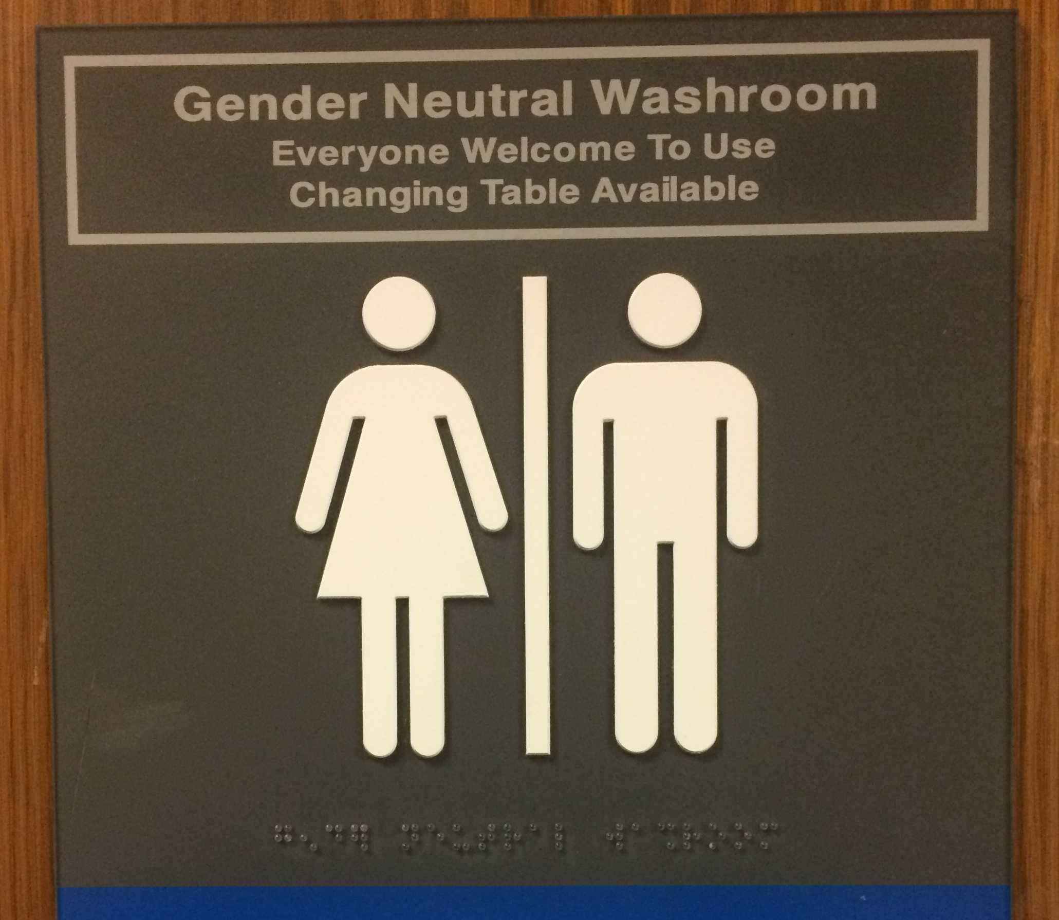 EdCC's only gender neutral bathroom is located in an alcove attached to the northwest corner of Brier Hall. College administration plans to add more all-gender bathrooms in the near future.