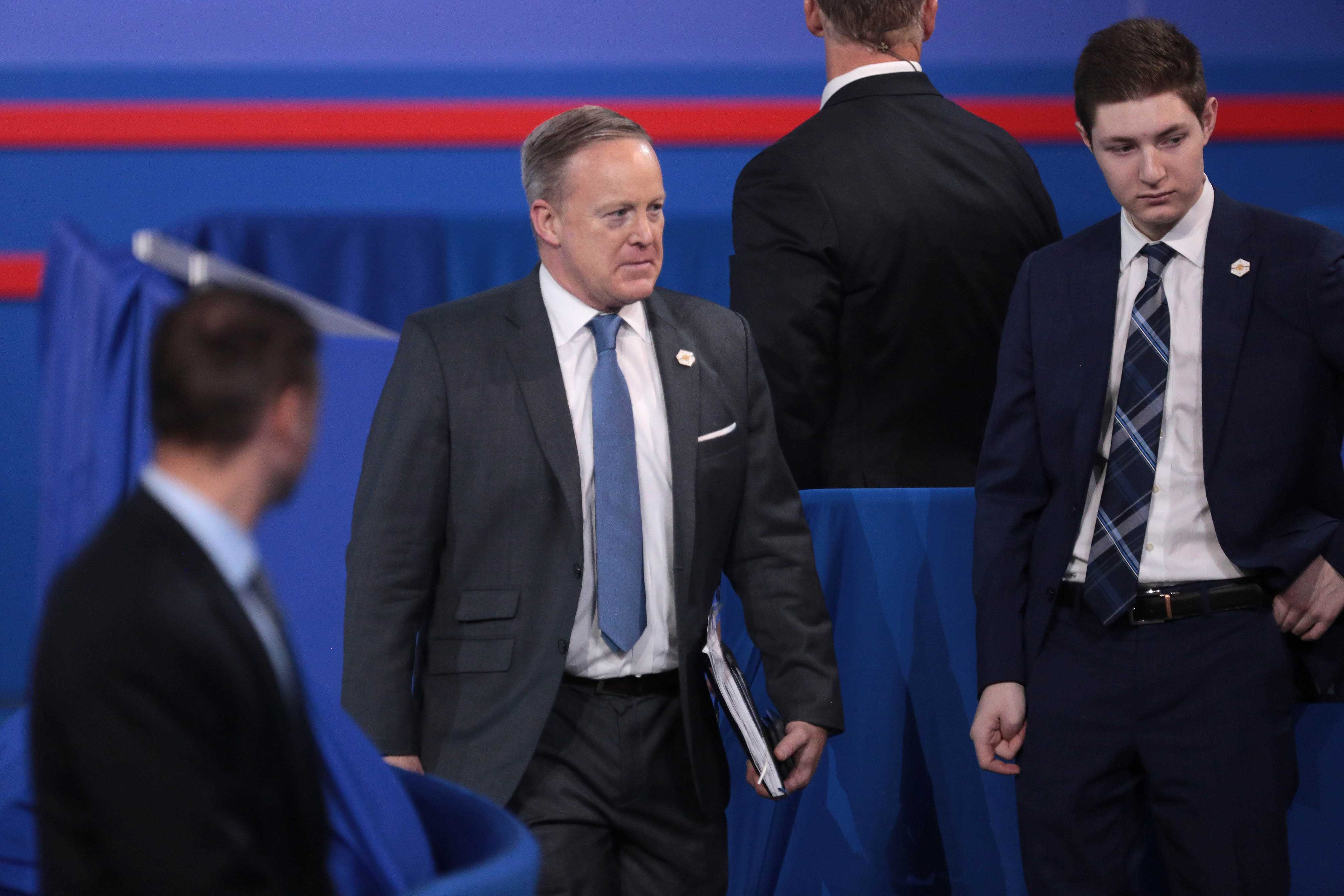 Sean Spicer, Trump's press secretary, has been widelty criticized for his odd remarks.