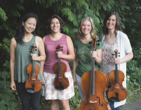Violist Annie Center to join string quartet Bella Sala for free concert