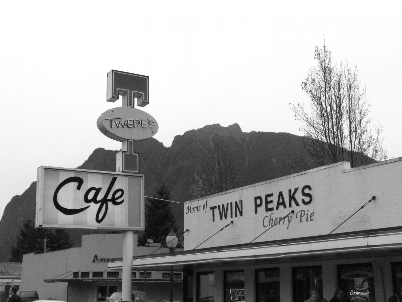 Twede's diner in Snoqualmie's North Bend served as a major setting during the original filming of Twin Peaks.