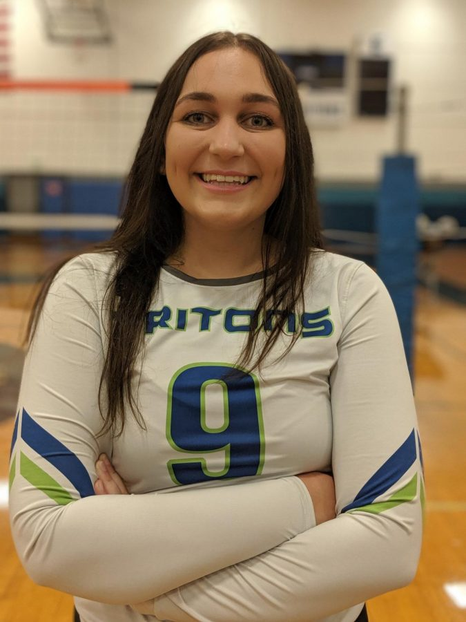 Volleyball star named 'athlete of the week'