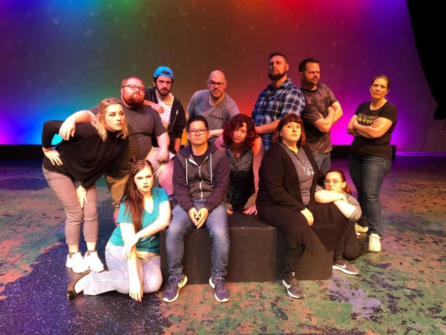 The cast of Fiasco! take their rolls very seriously- while still having fun.