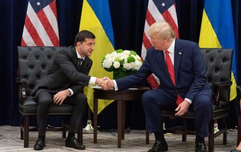 Ukranian President Volodymyr Zelensky and President Donald Trump.