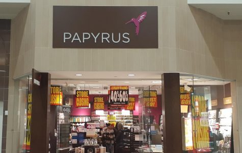 The Alderwood Mall Papyrus is expected to close for good within the next few weeks.