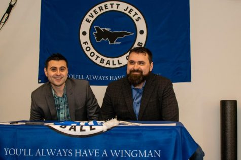 The Everett Jets FC has been the brainchild of Marco Mummey, left, and his brother Hawk Mummey for almost a decade.